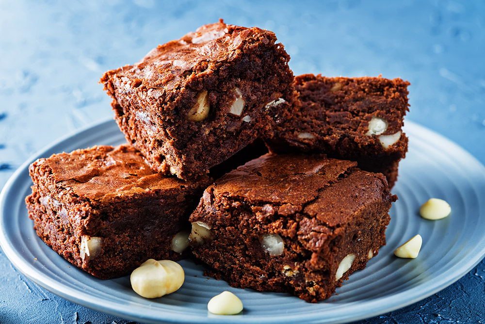 brownies-macadamia