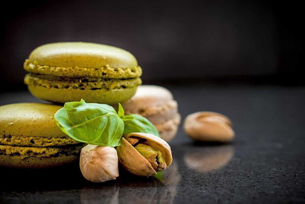 green-macaroons